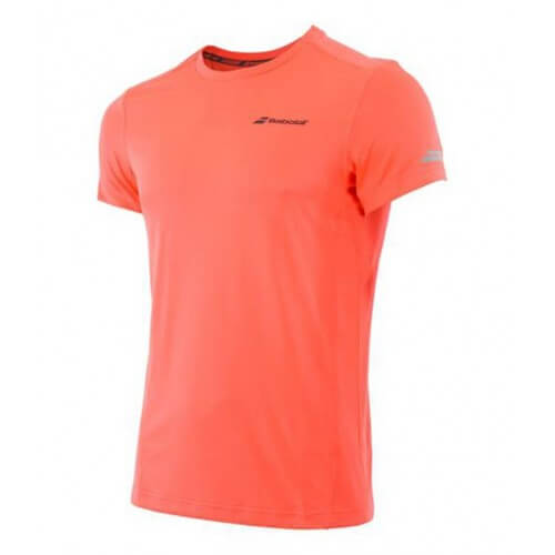 Babolat Flag Tee Core Club Men Fluo Strike