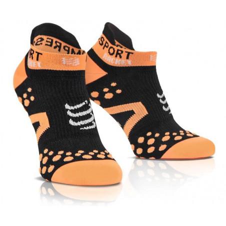 Compressport Strapping Socks Low Cut Black Orange
