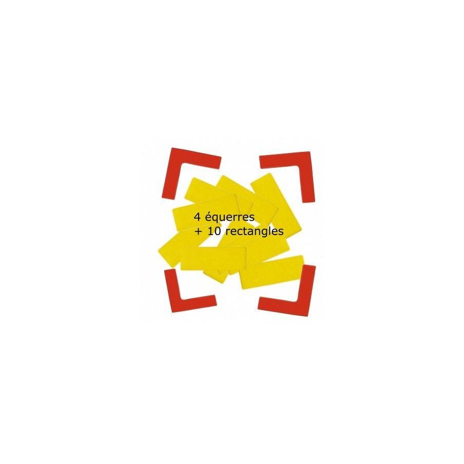 Kit Delimitation Terrain Equerres + Rectangles