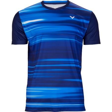 Victor T-Shirt 03100 Men Blue