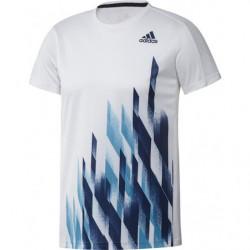 Adidas Graphic 1 Tee Men White Blue