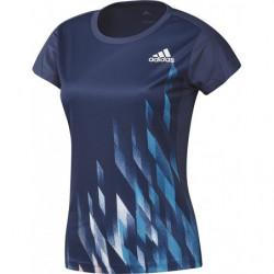 Adidas Graphic 1 Tee Women Indigo