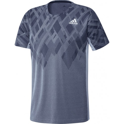 Adidas Colorblock Pro Tee Men Grey Black