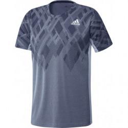 Adidas Colorblock Pro Tee Men Grey Black