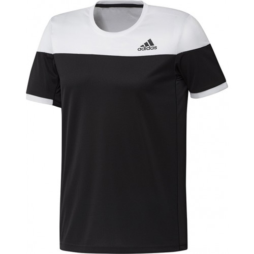 Adidas Colorblock Tee Men Black White