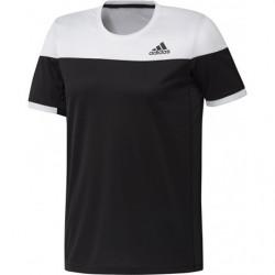 Adidas Colorblock Tee Men Black White