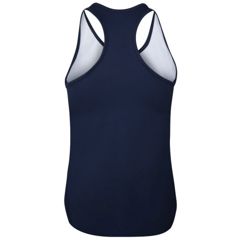 Babolat Tank Top Compete Women Estate Blue Vivacious Red