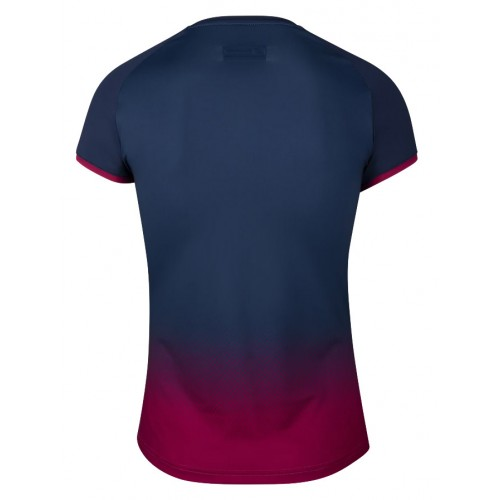Babolat Cap Sleeve Top Compete Women Estate Blue Red