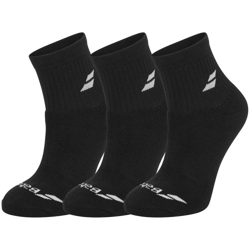 Babolat Quarter Socks X3 Black