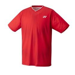 Yonex Crew Neck Shirt M YM0026 Ruby Red