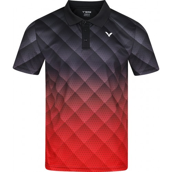 Victor T-shirt T-13100 Men Black Red
