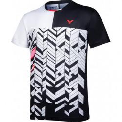 Victor T-Shirt T-10007 Men Black White